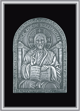 Plaque icons, 999/1000 silver