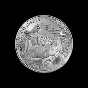 монета Българско висше образование_гръб