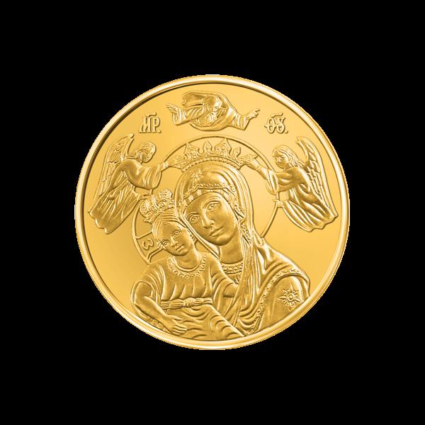 Medal-Bogorodica-obverce-gold-v3 (002)