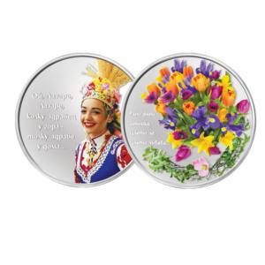медал от чисто сребро 999,9